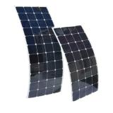 Panneau solaire semi flexible solaire à la maison conçu personnalisé 100W de systèmes