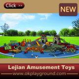 LuxuxTower und Climber Combined Slide Outdoor Play Equipment