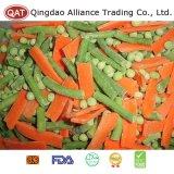Légumes gelés avec le raccord en caoutchouc d'haricots de soja d'haricots verts