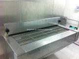 Surgelamento/congelatore del traforo per il filetto di pesce del pane del gambero dei pesci