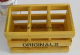 Cadre personnalisé de Flowerpot en bois de pin de caisse en bois de supports de centrale de Chine