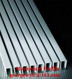 Perfil de aluminio anodizado del perfil de aluminio revestido de la protuberancia del polvo para la cabina de las puertas de Windows