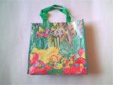 L'impression couleur laminé recyclé sacs tissés en PP