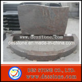 Monumento del granito del estilo de Rusia con la piedra sepulcral del granito