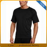 En gros sécher le T-shirt en bonne santé de polyester