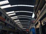 Feuille de carton ondulé en polycarbonate pour toiture de marché