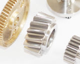 Ingranaggi conici del dente cilindrico della trasmissione d'acciaio su ordinazione di precisione per i rulli del trasportatore, pulegge motorizzate planetarie/trasmissione/attrezzo del dispositivo d'avviamento