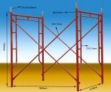 Le bâti en acier d'échafaudage de galvanisation de qualité
