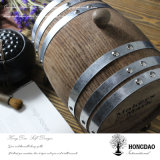 Hongdao Custom Burned Color Barril de madera para almacenamiento de vino o Decoration_L