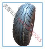 roda 10X3.50-4 de borracha pneumática com a borda de alumínio para empilhadores