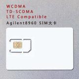 3G 4G AG8960 Prüfungs-Karte des Telefon-SIM Standard-SIM der Karten-WCDMA TD-SCDMA Lte für Agilent 8960