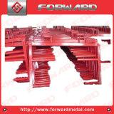 Кронштейн ног загородки изготовления трубы или плиты утюга OEM