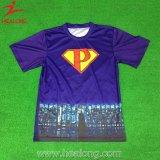 В полной мере Sulimation Healong оптовой индивидуальные T футболка