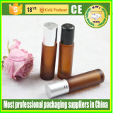 3ml 5ml 10ml Essential Oil Roll-on Bottles com Roller Ball Tube Garrafa de vidro para Perfume