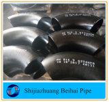Aço do cotovelo 90 graus de aço de carbono B16.9 Sch 80