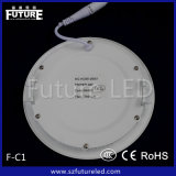 세륨 Approval를 가진 12W Future Branded Round LED Panel Light