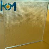 3,2 mm à l'Arc à motifs Super Blanc pour panneau solaire en verre solaire