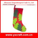 Indicador da loja da meia dos cervos do Natal da decoração do Natal (ZY14Y629 20 '')
