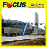 Завод Hzs60 60cbm/H неподвижный конкретный смешивая с ленточным транспортером