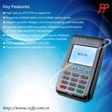 Lecteur de carte de crédit Linux Ordinateur de poche Bluetooth terminal POS avec WiFi, RFID, GPRS