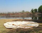 3m 4m 5m 6m 100% Baumwollsegeltuch-Rundzelt-Familien-kampierendes Zelt
