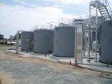 FRP, GRP 의 섬유 유리 수직 저장 탱크, 배, 콘테이너