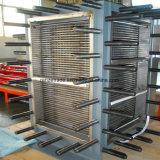 Tipo de placa completamente soldado industrial de calidad superior cambiador de calor para los líquidos des alta temperatura