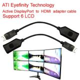 HDMI Adapter Cable Dp에 HDMI Support Ati Eyefinity 6 LCD Support 6 LCD에 액티브한 Ati Eyefinity Active Displayport