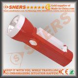 Nachladbare LED-Taschenlampe mit 10 LED-Studien-Lampe (SH-1908)