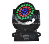 DJ Club Light 37HP X 9W Mini lavar a cabeça móvel LED luz de Zoom