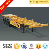 CIMC 3 Axles 40ft Flat Bed Container Seeds Trailer