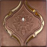 панель стены 1163-3 PU 3D кожаный для домашнего украшения