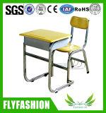 Mesas do estudante, mesa da escola e cadeira usadas (SF-49)