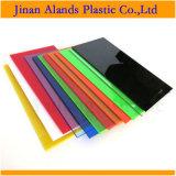 La couleur a moulé la feuille acrylique 2mm jusqu'à 25m de plexiglass