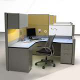 Projeto personalizado moderno da tabela do escritório das divisórias dos compartimentos do projeto da tabela do escritório para a pessoa 4 (HY-C1)