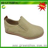 Chaussures occasionnelles élégantes garçons neufs de Falt de beaux (GS-LF75301)