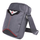 走行する6hl24毎日の野外活動のための黒い肩のハンド・バッグ