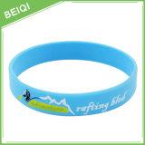 Wristband su ordinazione del silicone di Debossed Colorfilled, braccialetto su ordinazione del silicone di Colorfilled, |Fabbrica di Beiqi