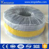 Transparente de PVC de alambre de acero tubo de aspiración