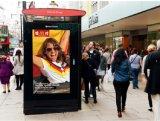 버스 대기소를 위한 72inch 정보 디지털 Signage LCD 디스플레이
