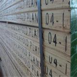 De gelamineerde Planken van de Steiger