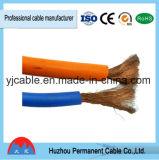 Gaine flexible du cordon Rubber/PVC de câble de soudure de câble de Yhf de port de Ningbo