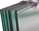 espelho chanfrado da prata do banheiro da borda de 3mm-6mm com vidro do edifício