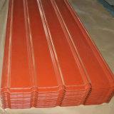 열간압연 철 장 색깔 입히는 Galvanzied 강철판 루핑