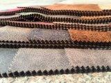 Tessuto di sguardo di cuoio del sofà della pelle scamosciata di pulizia facile (K034)