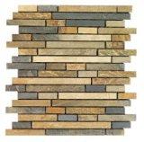 Mosaico de pizarra, Mosaico, Mosaico de piedra, pizarra, piedra, Zxm53 300*300*8mm