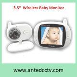 """3.5"""" LCD Digital Wireless Baby Monitor con visión nocturna"""