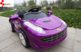 Passeio do brinquedo do veículo eléctrico do miúdo no carro