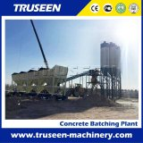 Leading Clouded Construction Machinery, 90m3/H Concrete Mixing Plant