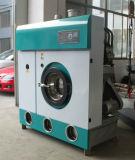 A lavanderia veste a máquina da tinturaria